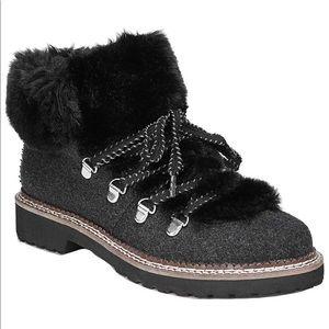 NWOB Harlin Fur Lined Boots Franco Sarto size 7